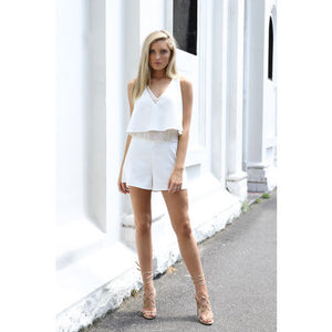 Serena Playsuit (Cream)