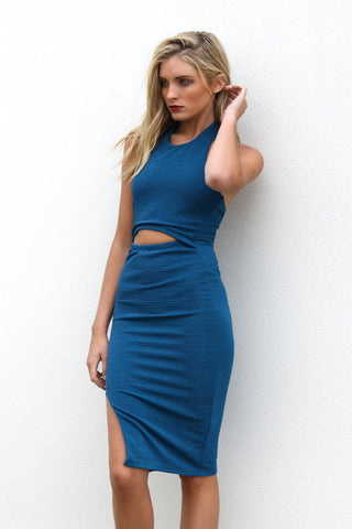 Sale Item - The Rivalry Dress (Teal) - Light & Beauty xoxo