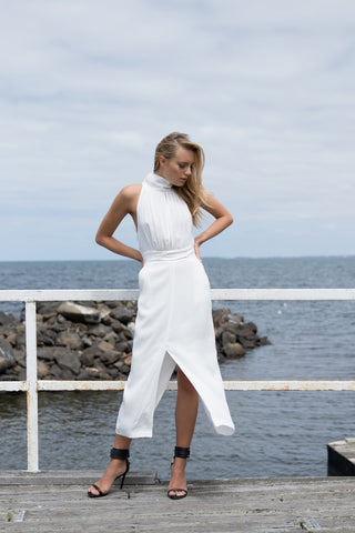 Ethereal Midi Dress - Light & Beauty xoxo