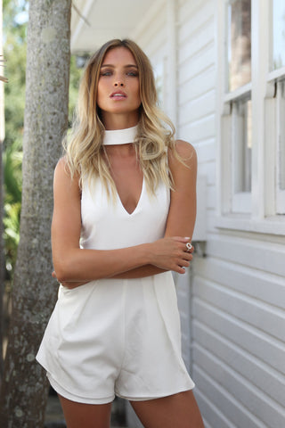 Sale Item - Sanctuary Romper (White)
