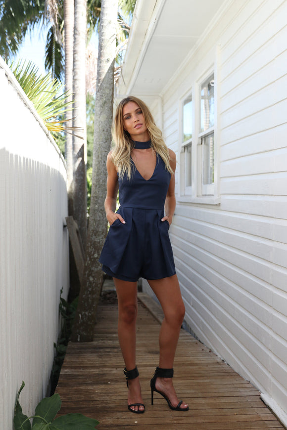 Sale Item - Sanctuary Romper (Navy)