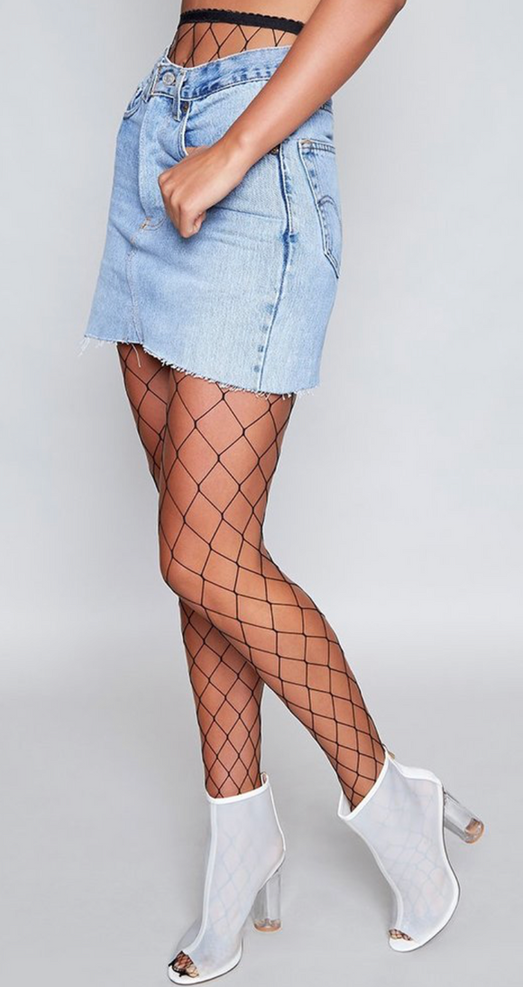 Bae Fishin Fishnet Stocking