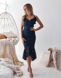 Pre Order - Leanne Dress (Navy)