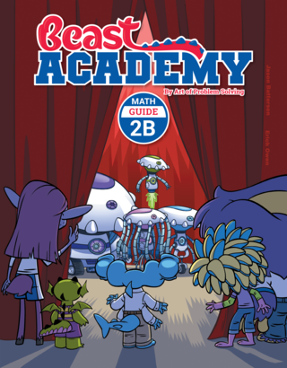 Beast Academy Guide and Practice Books 2B