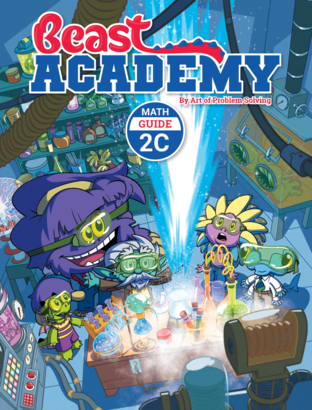 Beast Academy Guide and Practice Books 2C