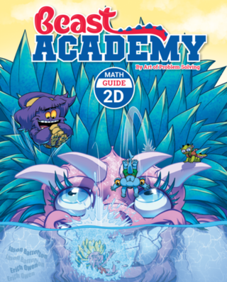 Beast Academy Guide and Practice Books 2D