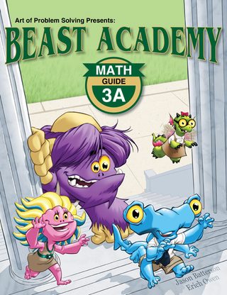 Beast Academy Guide and Practice Books 3A