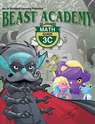 Beast Academy Guide Book ONLY 3C