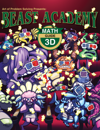 Beast Academy Guide and Practice Books 3D