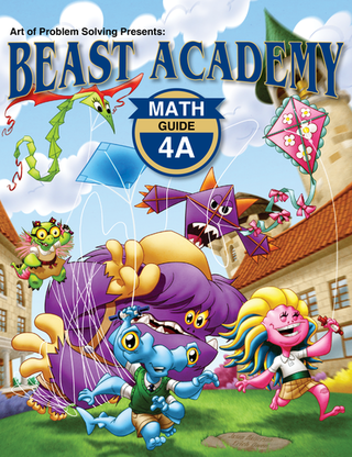 Beast Academy Guide and Practice Books 4A