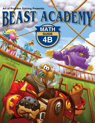 Beast Academy Guide and Practice Books 4B