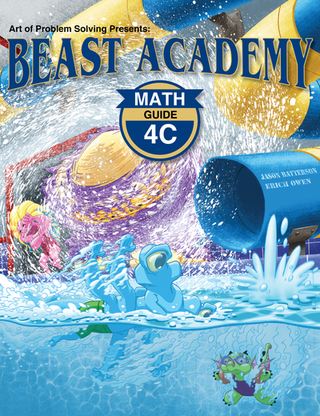 Beast Academy Guide and Practice Books 4C