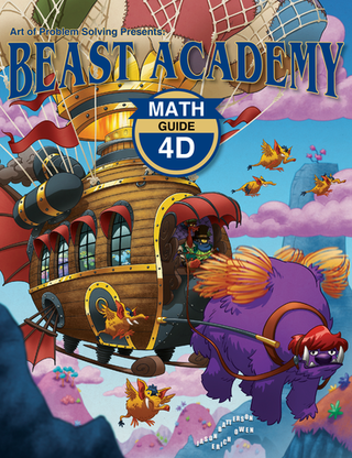 Beast Academy Guide and Practice Books 4D