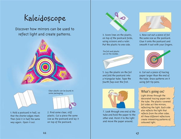Usborne 50 Science Things to Make and Do