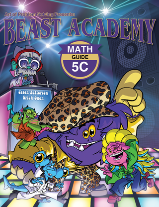 Beast Academy Guide and Practice Books 5C