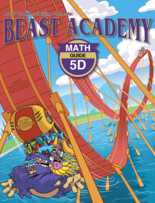 Beast Academy Guide and Practice Books 5D