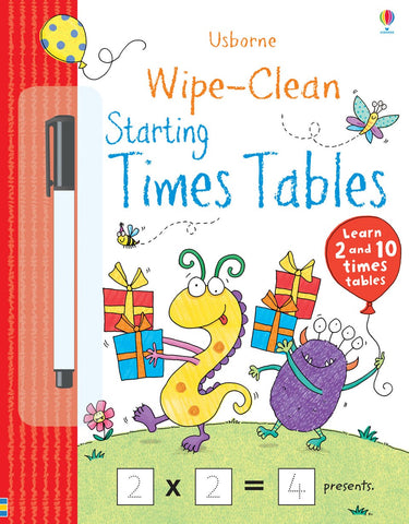 Usborne Wipe-Clean: Starting Times Tables