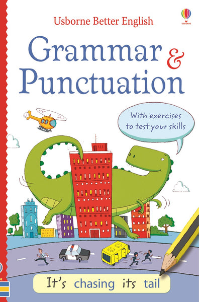 Usborne Better English Grammar and Punctuation Activity Puzzle Book
