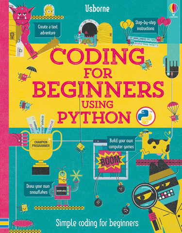 Usborne Coding for Beginners Using Python IR