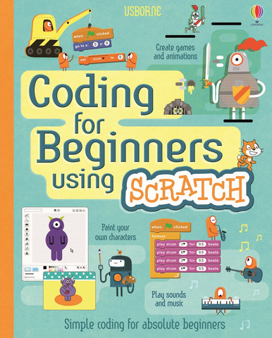 Usborne Coding for Beginners Using Scratch IR
