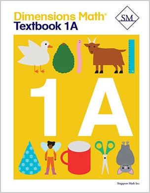 Dimensions Math Textbook and Workbook Set 1A