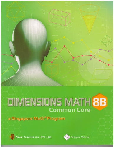 Singapore Math Dimensions Math Textbook and Workbook Set 8B