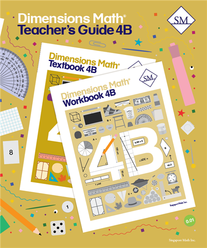 Dimensions Math Teacher's Guide 4B