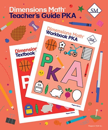 Dimensions Math Teacher's Guide PreK-A