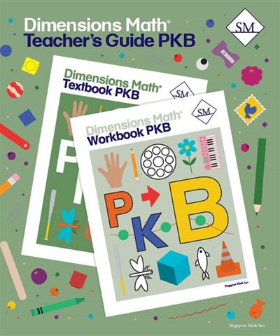 Dimensions Math Teacher's Guide PreK-B