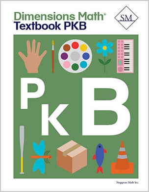 Dimensions Math Textbook and Workbook Set PreK-B