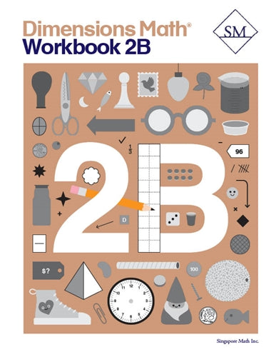 Dimensions Math Workbook 2B