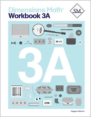 Dimensions Math Textbook and Workbook Set 3A
