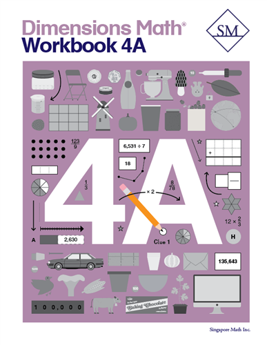 Dimensions Math Workbook 4A