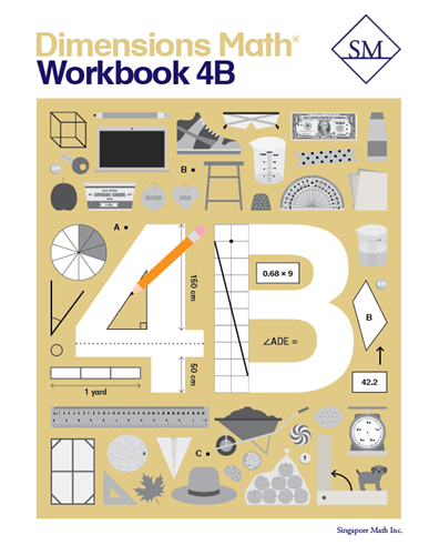 Dimensions Math Workbook 4B