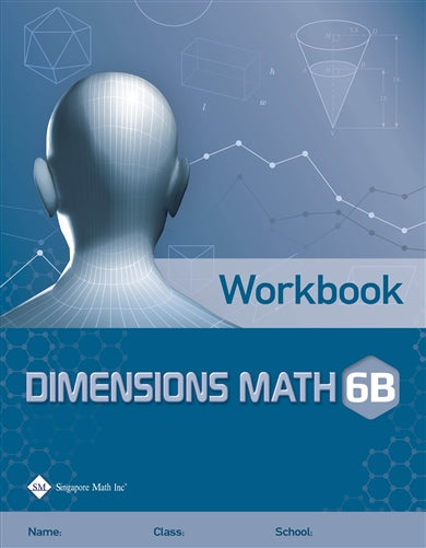 Singapore Math Dimensions Math Textbook and Workbook Set 6B