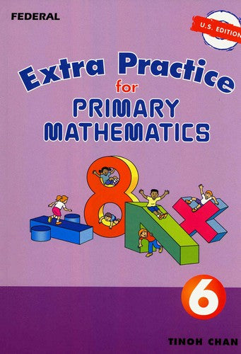 Primary Mathematics Extra Practice 6 US Edition