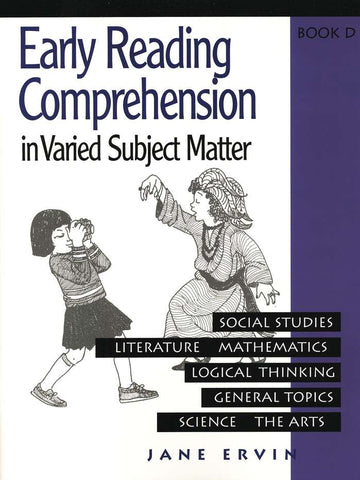 Early Reading Comprehension in Varied Subject Matter Book D and answer key set