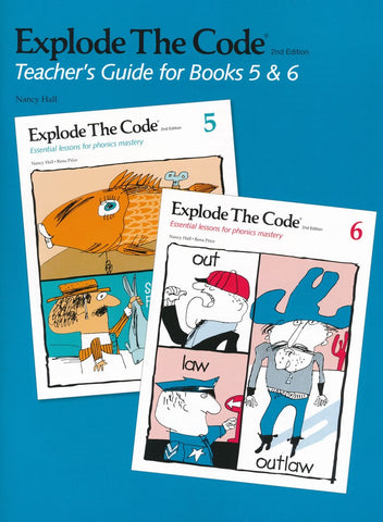 Explode the Code 5, 6 and Teacher's Guide bundle (2nd Edition)