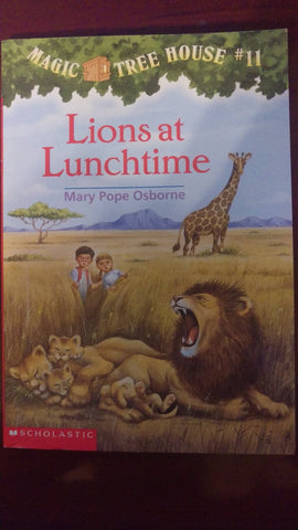 Lions at Lunchtime (Magic Tree House #11): Used