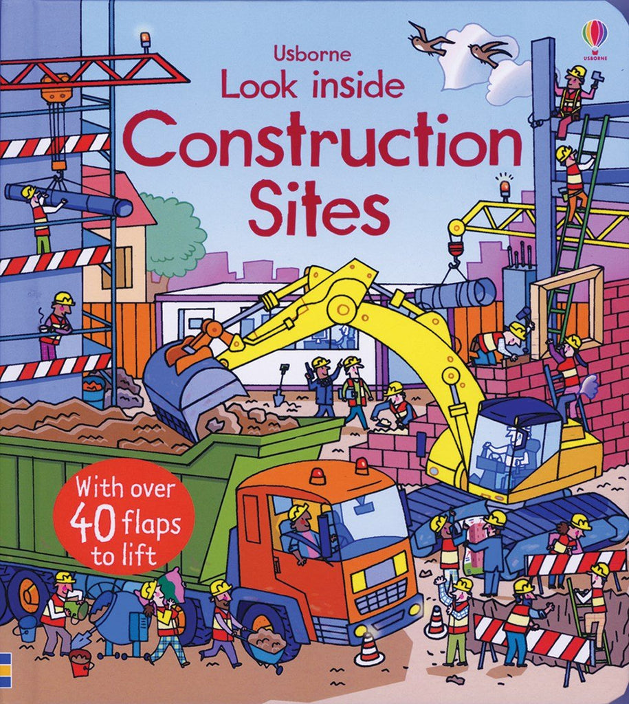 Usborne Look Inside Construction Sites