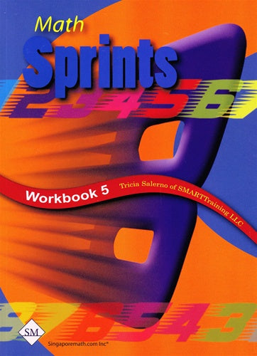 Singapore Math Math Sprints Workbook 5