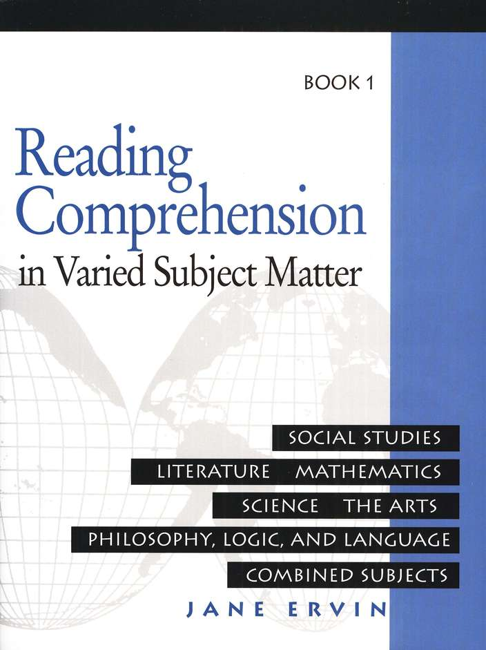 Reading Comprehension in Varied Subject Matter Book 1