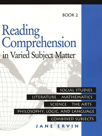 Reading Comprehension in Varied Subject Matter Book 2