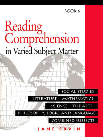 Reading Comprehension in Varied Subject Matter Book 6