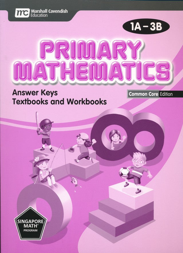 Primary Math Common Core Edition Answer Key 1A-3B