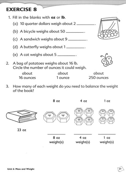 Singapore Math: Primary Math Workbook 3B Common Core Edition