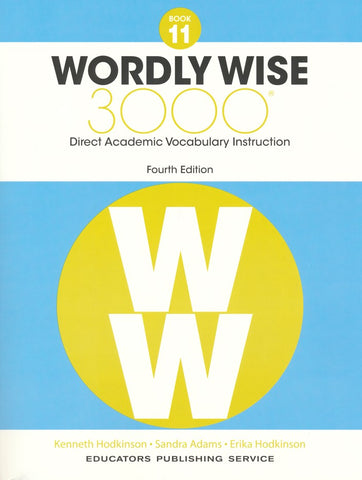 Wordly Wise 3000 Book 11 Student Book and Answer Key Set (4th Edition)