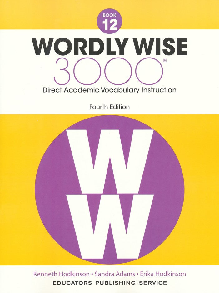 Wordly Wise 3000 Book 12 Student Edition (4th Edition)