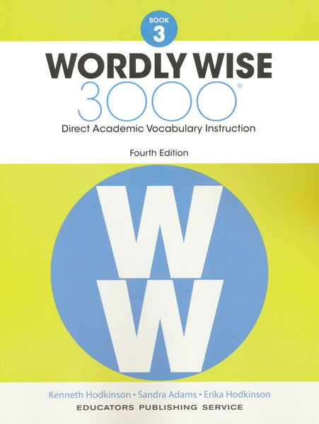 Wordly Wise 3000 Book 3 Student Edition (4th Edition)