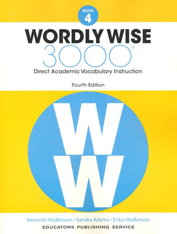 Wordly Wise 3000 Book 4 Student Edition (4th Edition)